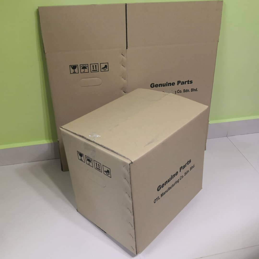 10pcs Printed Carton Boxes (L380 X W300 X H350mm)