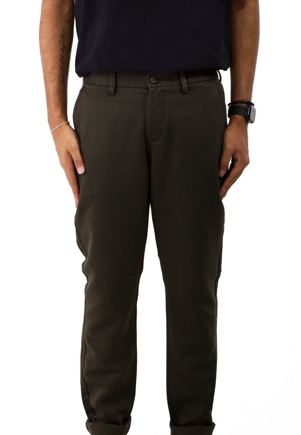 Exhaust Plain Smart Chino Long Pants 763