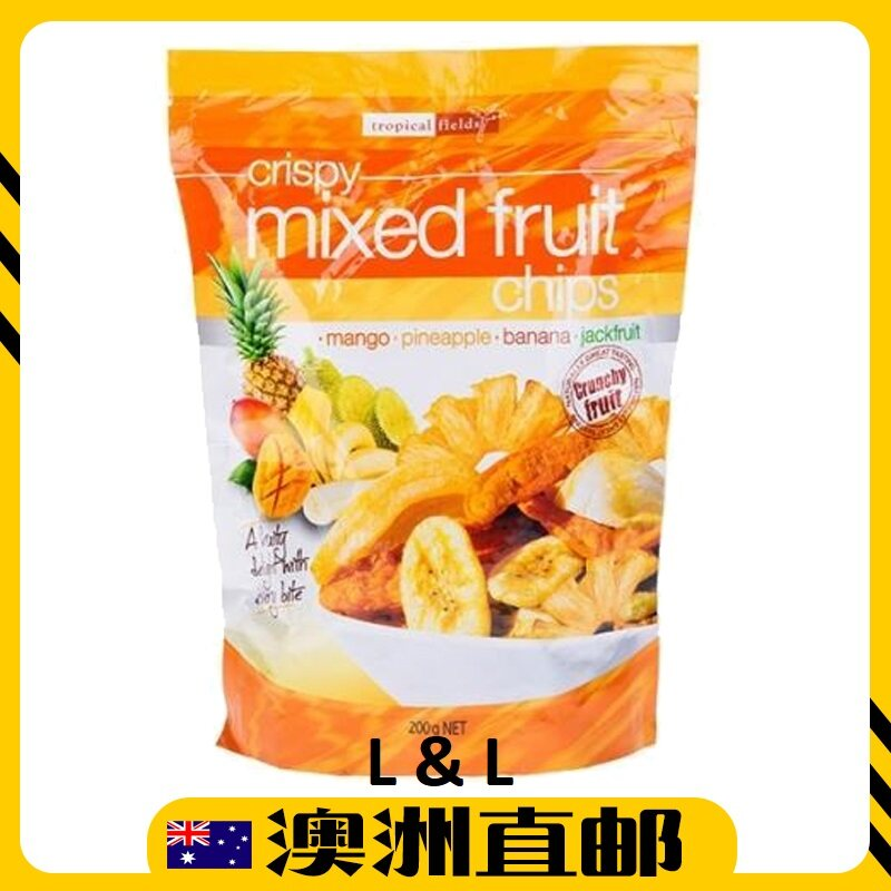 [Pre Order] Australia Costco Tropical Health Snack Fields Mixed Fruit Chips ( 200g ) (Import from Australia)
