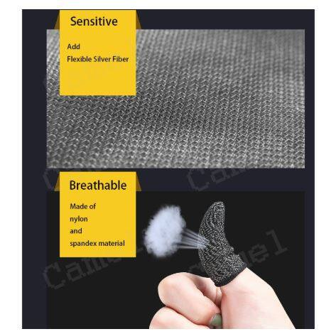 Mobile PUBG Game Controller Finger Sleeve Full Touch Screen Sensitive Anti-Sweat Breathable Joystick