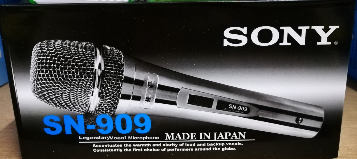 Sony SN-909 Professional Microphone/Mic For Vocal/Karaoke/Stage