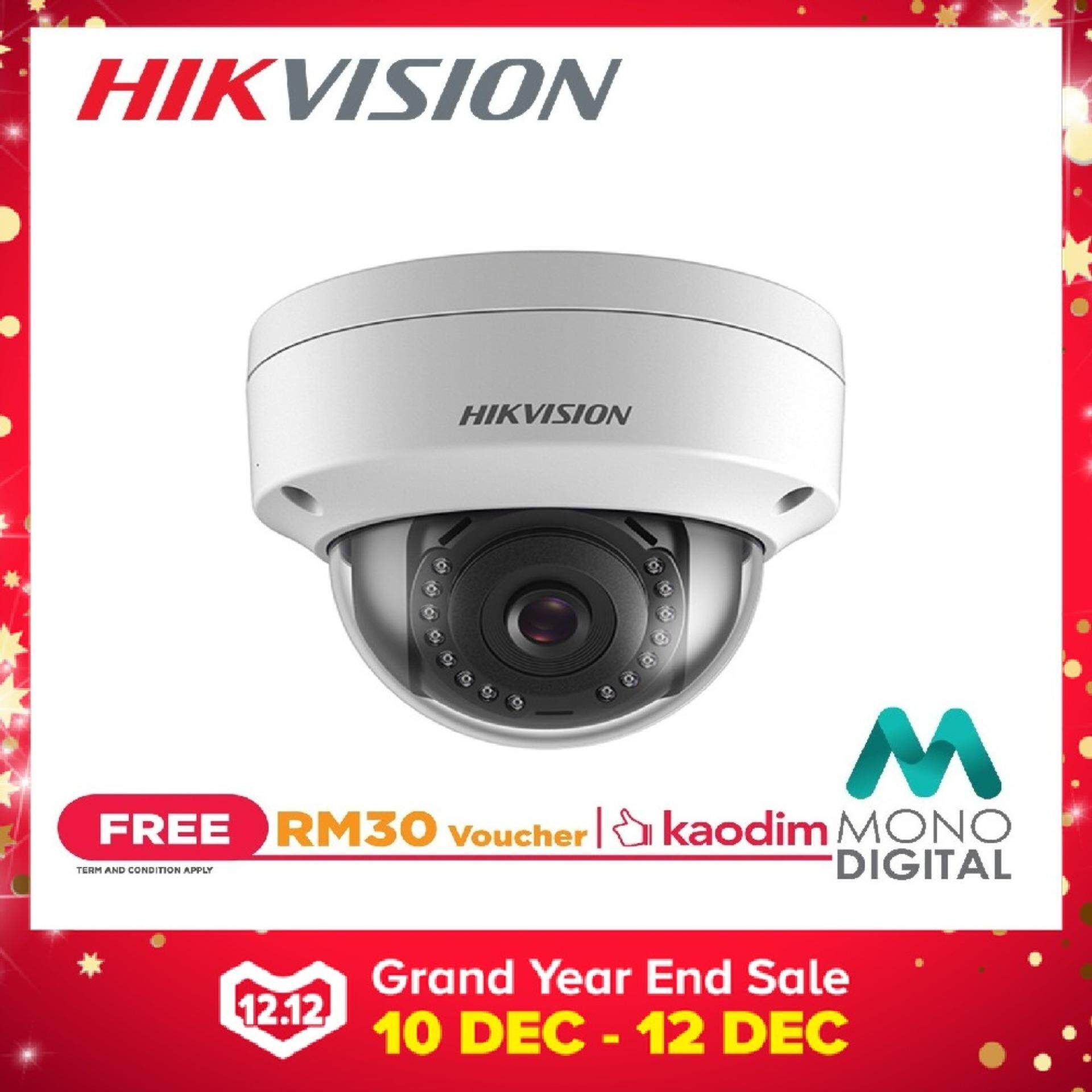 Hikvision HIK-DS-2CD1121-I 2.0 MP CMOS Network Dome Camera CCTV  (Free Kaodim Voucher RM30) (Hikvision Malaysia)