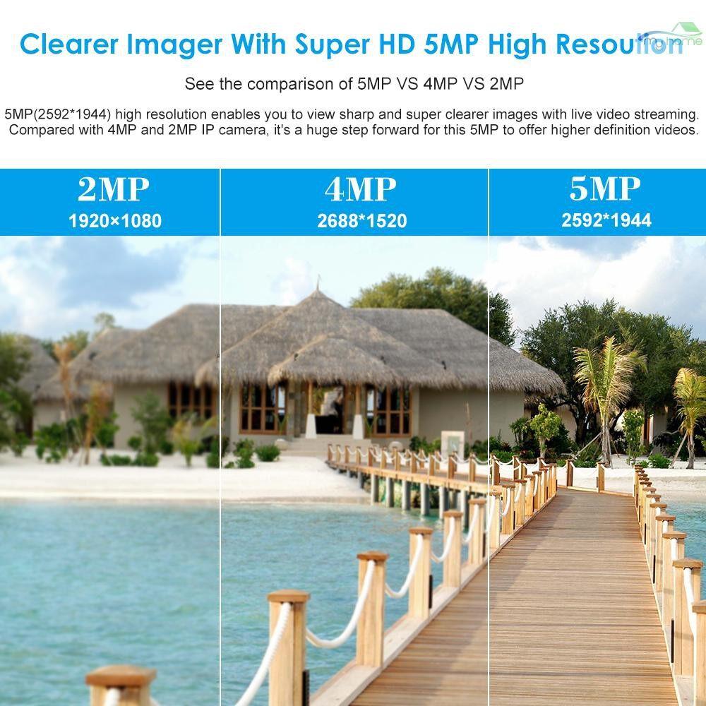CCTV Security Cameras - 5MP ( 4MP / 1080P / 1440P / 1520P ) Camera HD Dome POE IP Camera Explosion-proof 2.8-12mm 4X - #