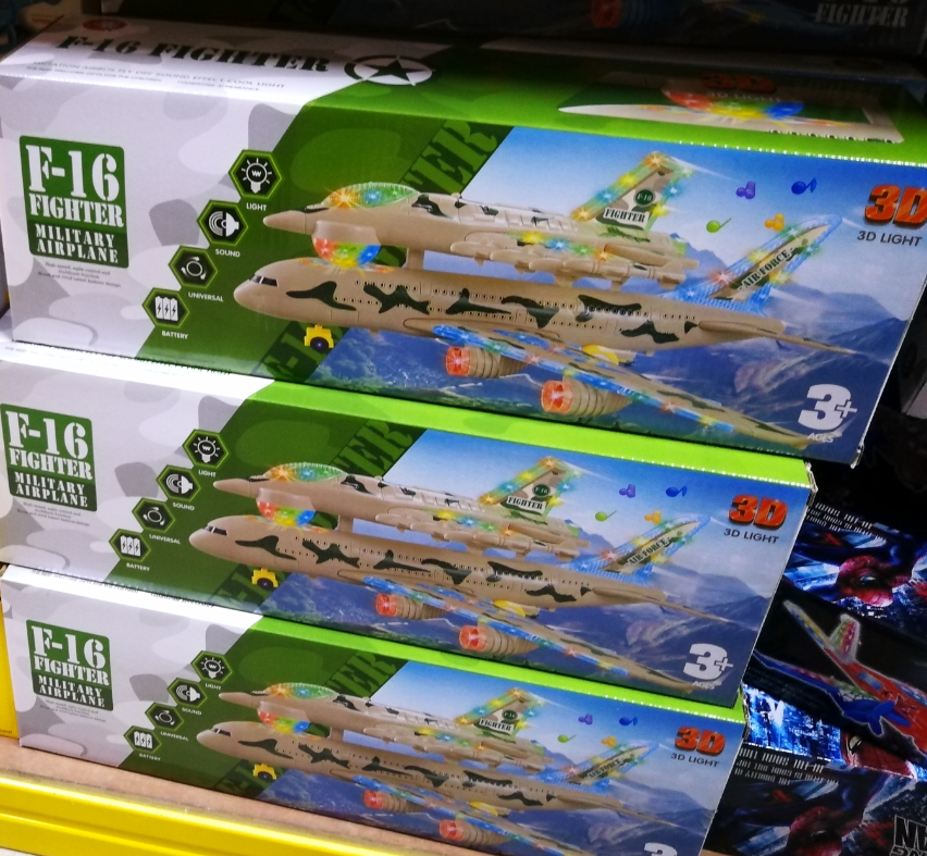Kids Toy - F-16 Fighter Military Airplane Series baby toys