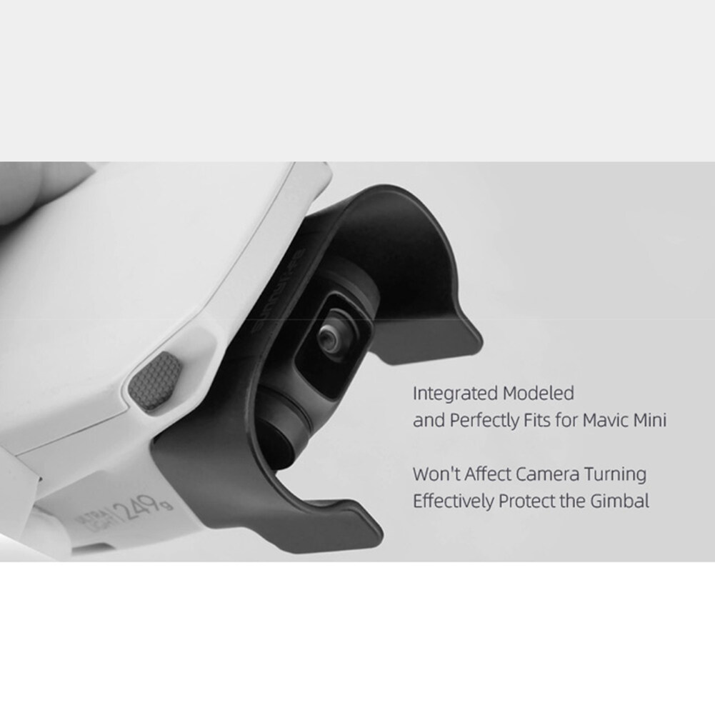 RC Drone Lens Hood for DJI Mavic Mini Anti-glare Gimbal Lens Cover Sunshade Protective Cover Remote Control Airplane Accessories