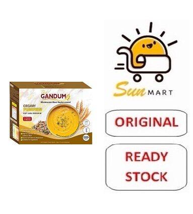 THE GANDUM MEAL REPLACEMENT CREAMY PUMPKIN (10'S)