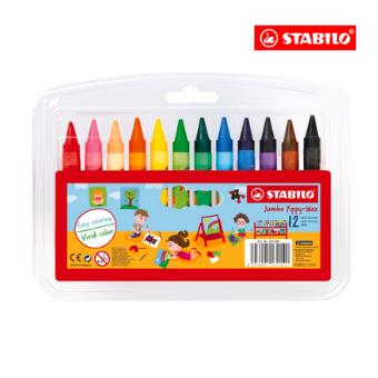STABILO® Jumbo Yippy-Wax (Box of 12)