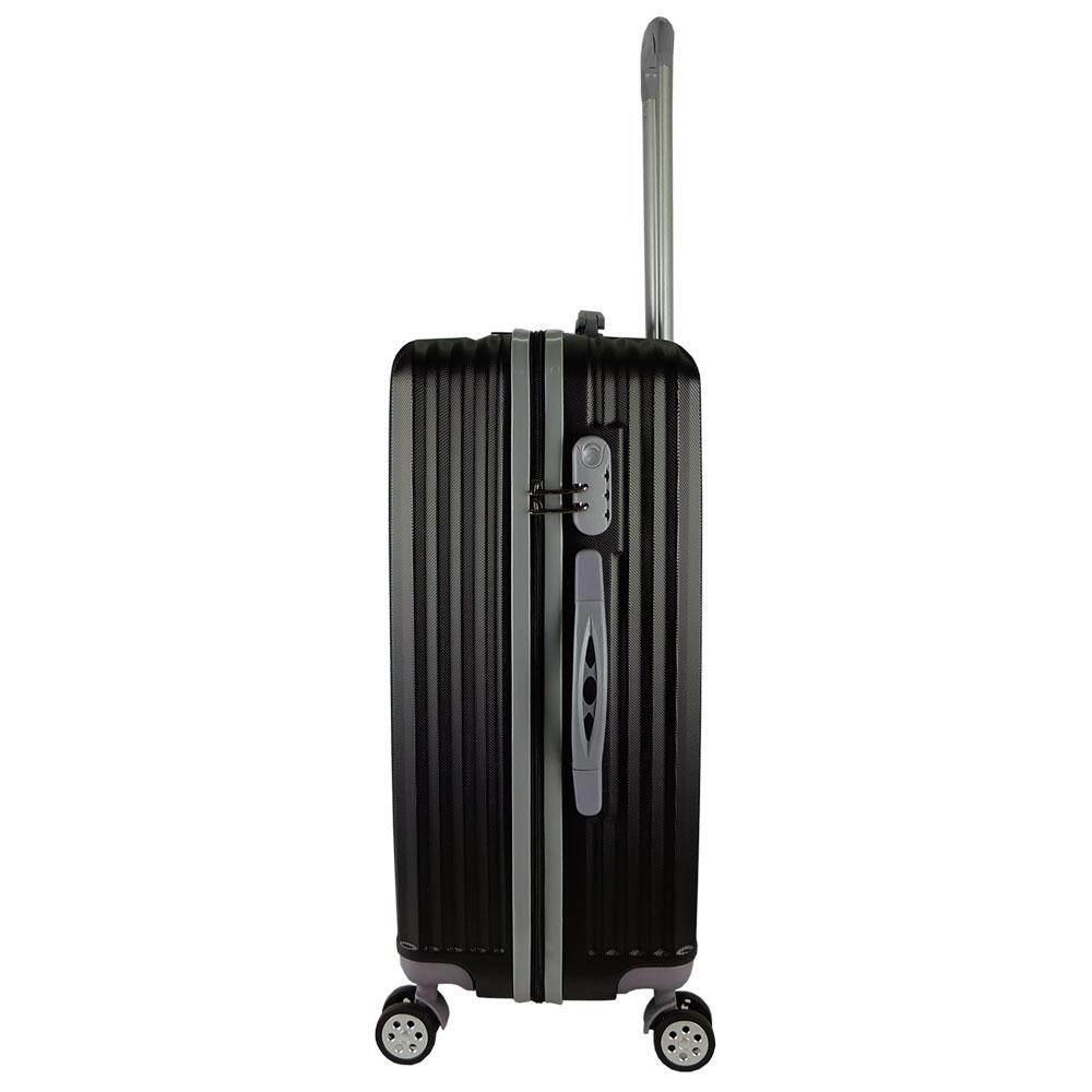 W.Polo WA1884 24inch ABS Hardcase Luggage- Black