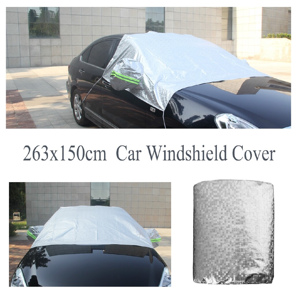 Automotive Tools & Equipment - Car Windshield Cover Protector Sun Snow Ice Frost Guard Vehicle Waterproof Pad - Car Replacement Parts