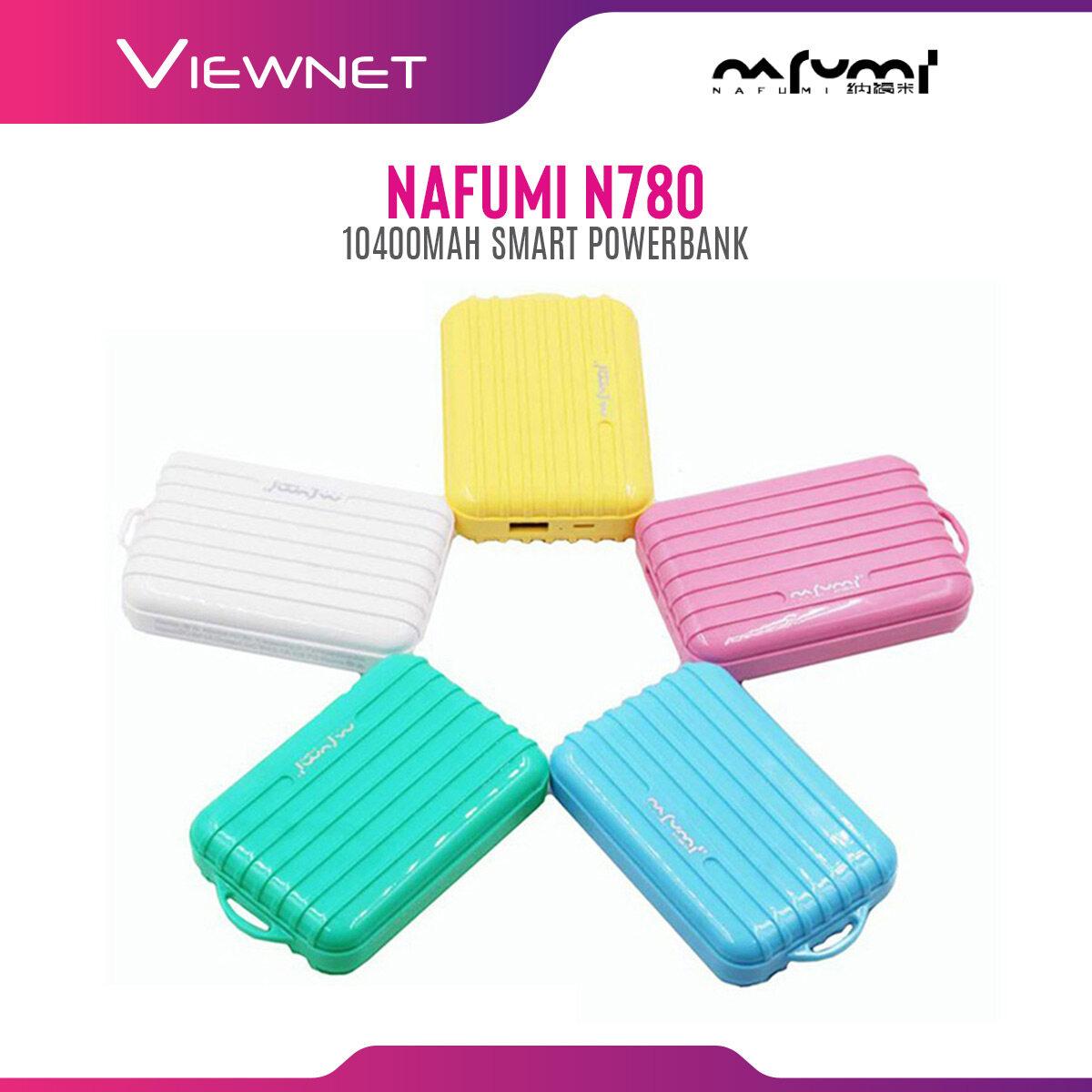 Nafumi 10400 mAh Smart Powerbank N780 - for Huawei, Xiaomi, iPhone, Samsung, Oppo, Vivo