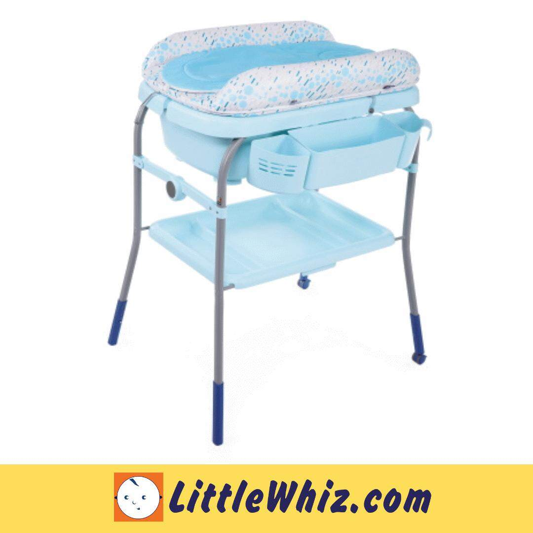 Chicco: Cuddle & Bubble Comfort Bath & Changing Station - OCEAN