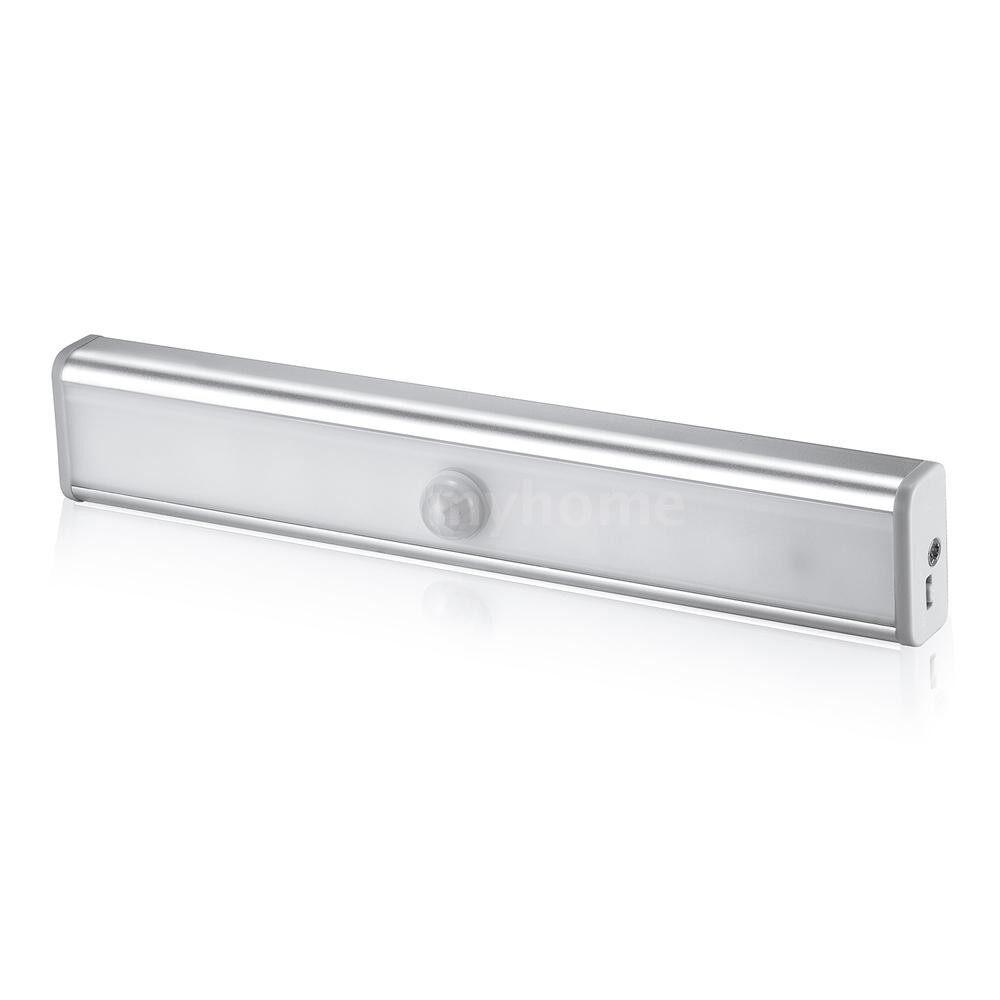 Lighting - LED Stair Light PIR Motion Sensor Lamp 10 LEDs Night Light Useful Lighting for Wardrobe Cupboard - 2 / 1