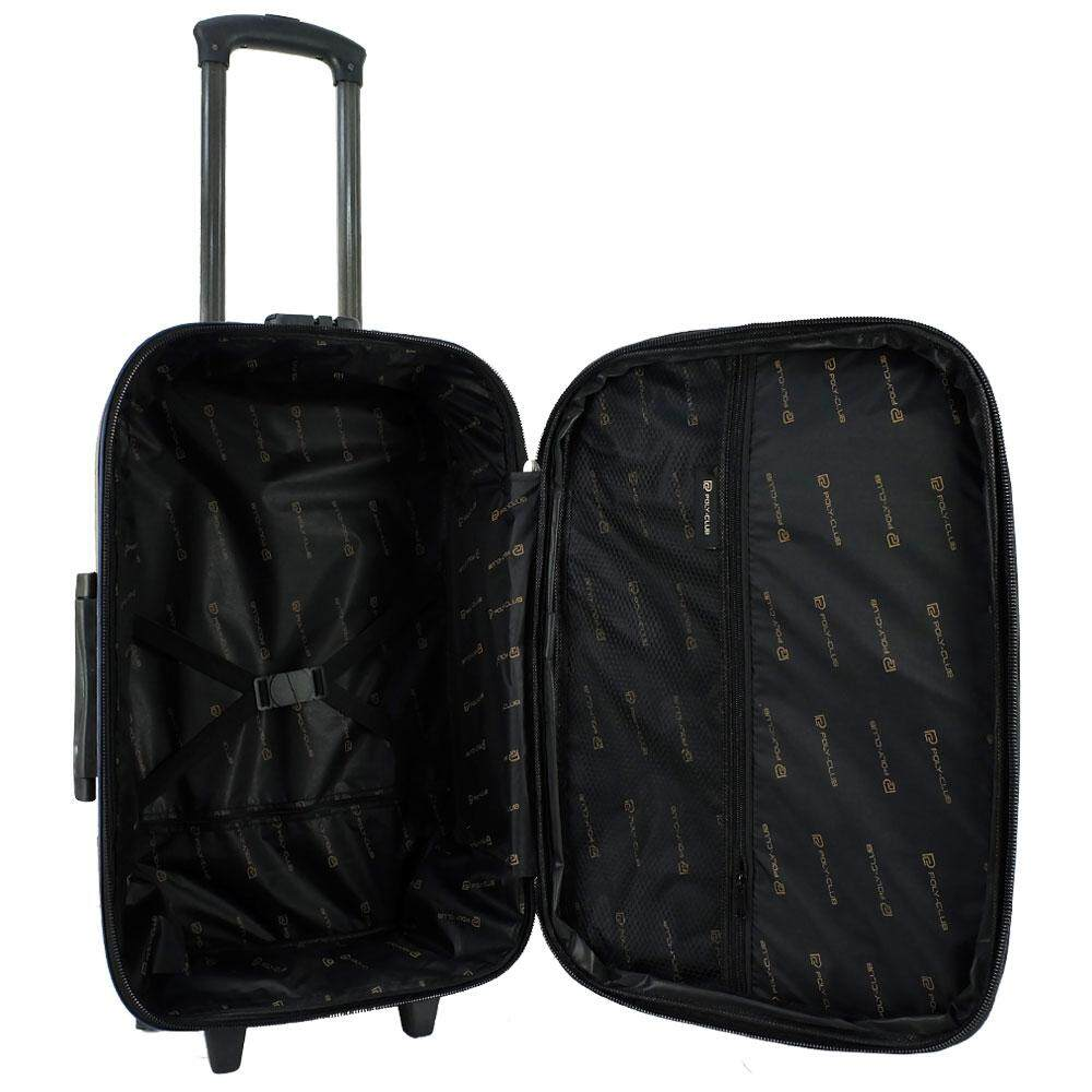Poly-Club BE9835 28inch 2W EVA Expendable Softcase Luggage- Navy/Grey