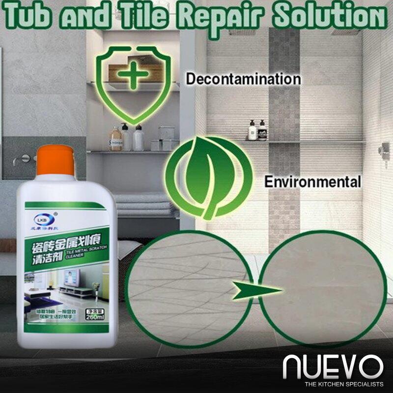 260ml Bathtub Tile Tub And Tile Refinishing Spray Kitchen Sink Tub Tile Repair Agent Tiles Metal Scratch Fix