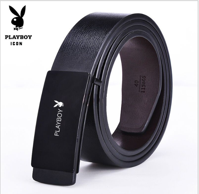 Men Business Casual  Leather Buckle Waist Belt for Men Leather Belts Suit belt Jeans Pants Belt