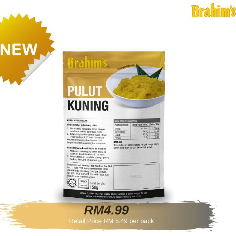 Brahim's Pulut Kuning (150gram)