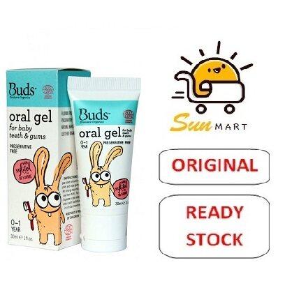 BUDS ORAL GEL  FOR BABY TEETH & GUMS (0-1YEAR) 30ML