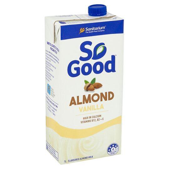 MILK Sanitarium So Good Almond Vanilla Milk (1L) EURO SNACKS