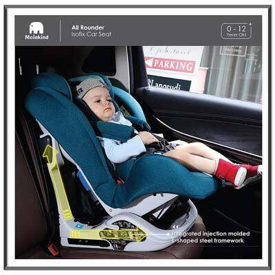 Meinkind: All Rounder Convertible Car Seat - GREEN