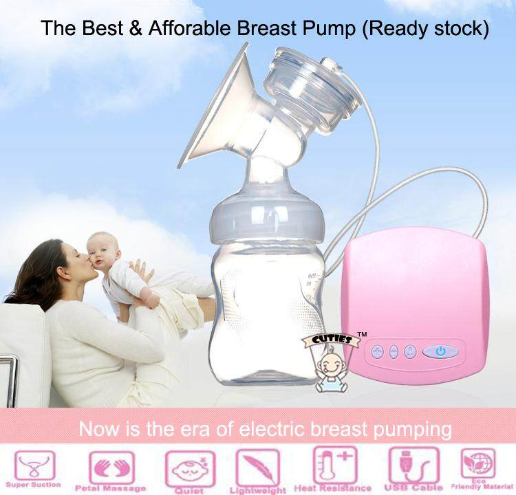 Single Side Powerful and Safe Electrical Breast Pump with Milk Bottle Feeding
