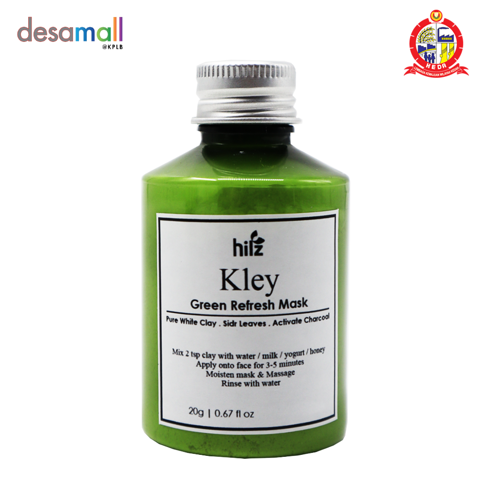 HILZ Kley Green Refresh Mask Pure White Clay (20g)