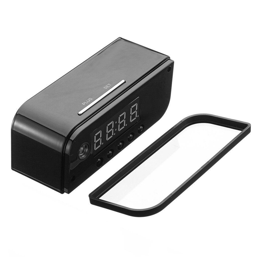 CCTV Security Cameras - 720P WIRELESS Wifi IP Hidden Camera Motion Security Alarm Clock IR DV Cam - Systems