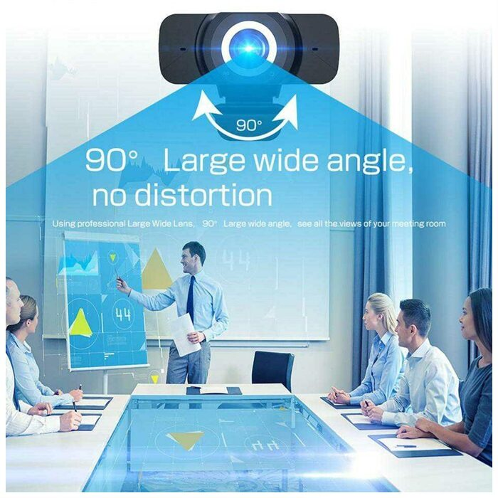 1080P USB Full-HD Webcam Camera For PC Desktop Laptop (1920x1080) Web Camera With Microphone