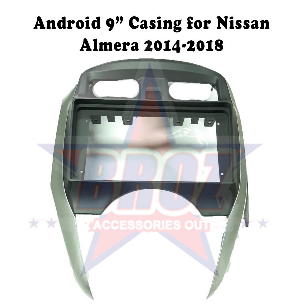 9 inches Car Android Player Casing for Almera 2014-2018