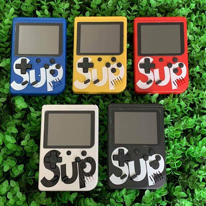 """SUP GAME BOX GAMEBOY RETRO GAME STATION 400 IN 1 8 BIT 3"""" SCREEN HANDHELD SUP GAMEBOY CONSOLE"""