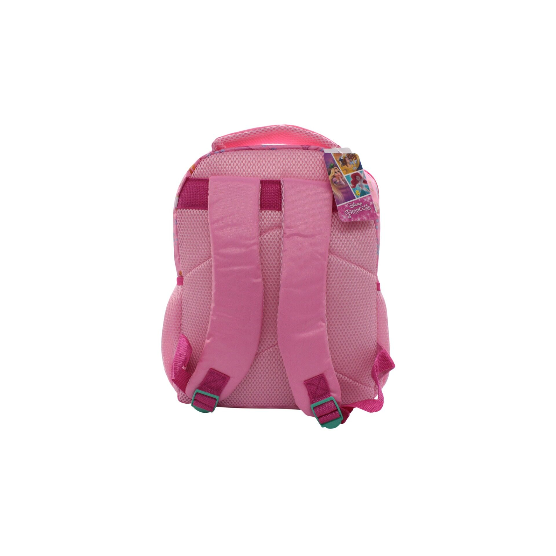 Disney Princess Be True Castle With Front Zipper Pouch Kids Girls Pre School Bag (Pink)