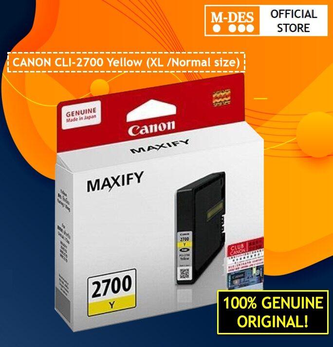 Canon 2700 BK/C/M/Y Ink Cartridge  PGI2700 CLI2700