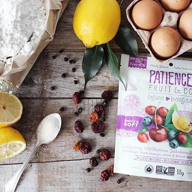 Patience Organic Fruit Blend (Cranberry, Wild Blueberry & Tart Cherry) 196g (Buy 1 Free 1) (Best Before 26/03/2021)