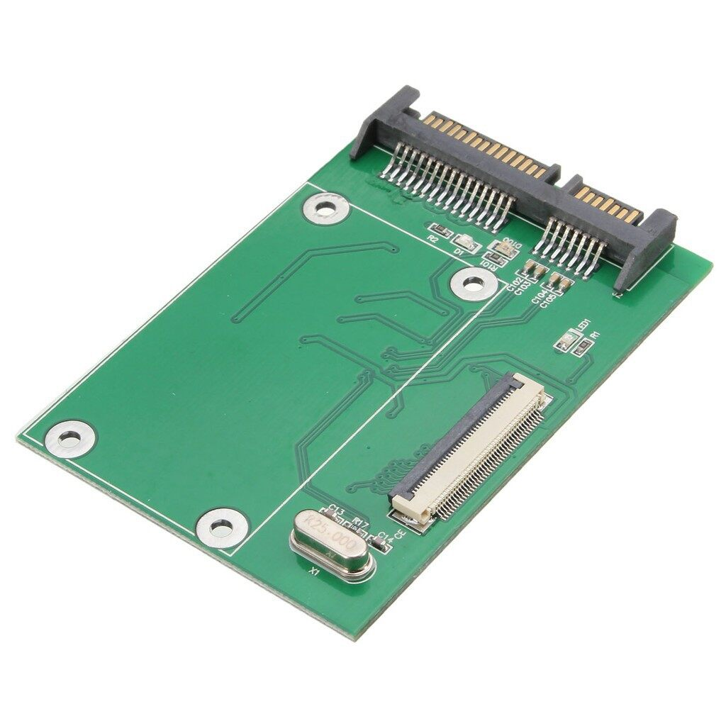 Cool Gadgets - 1.8 CE ZIF SSD HDD to SATA Serial ATA 7+15Pin Adapter Converter For Lapto - Mobile & Accessories