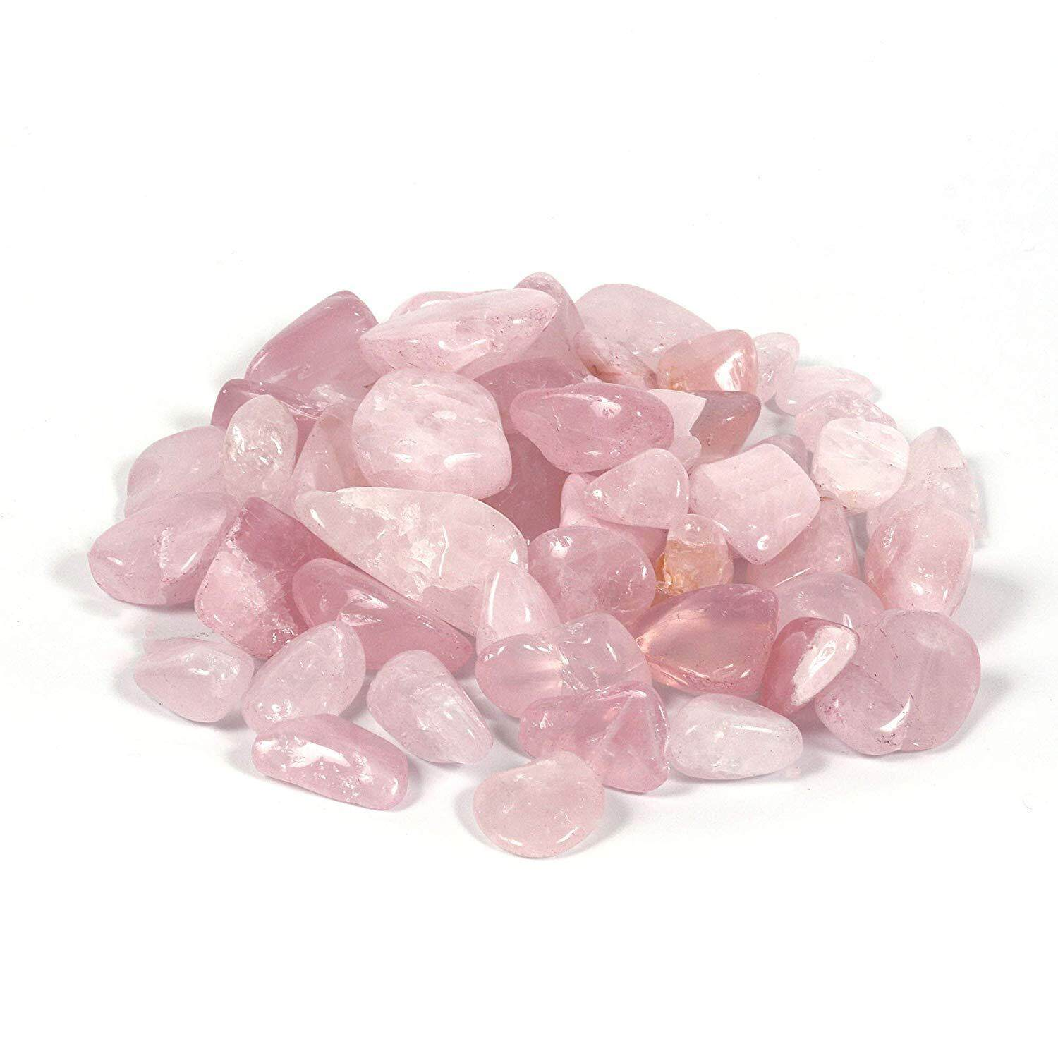 Natural Pink Rose Quartz Crystal/ Mineral Crystal/ Crystal Stone/ Healing Material Crafts (Size M)
