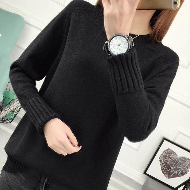 (Pre Order14 Days JYS Fashion Korean Style Women Knit TopCollection526-9860col525a-9860--Black -S