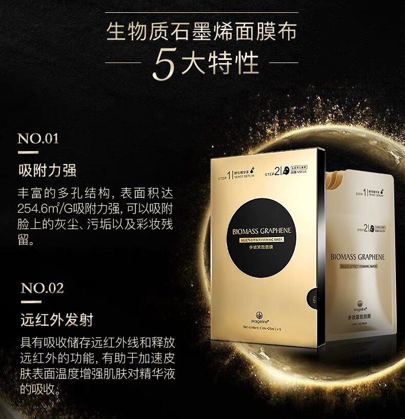Mageline Biomass Graphene Soothing and Rejuvenating Mask