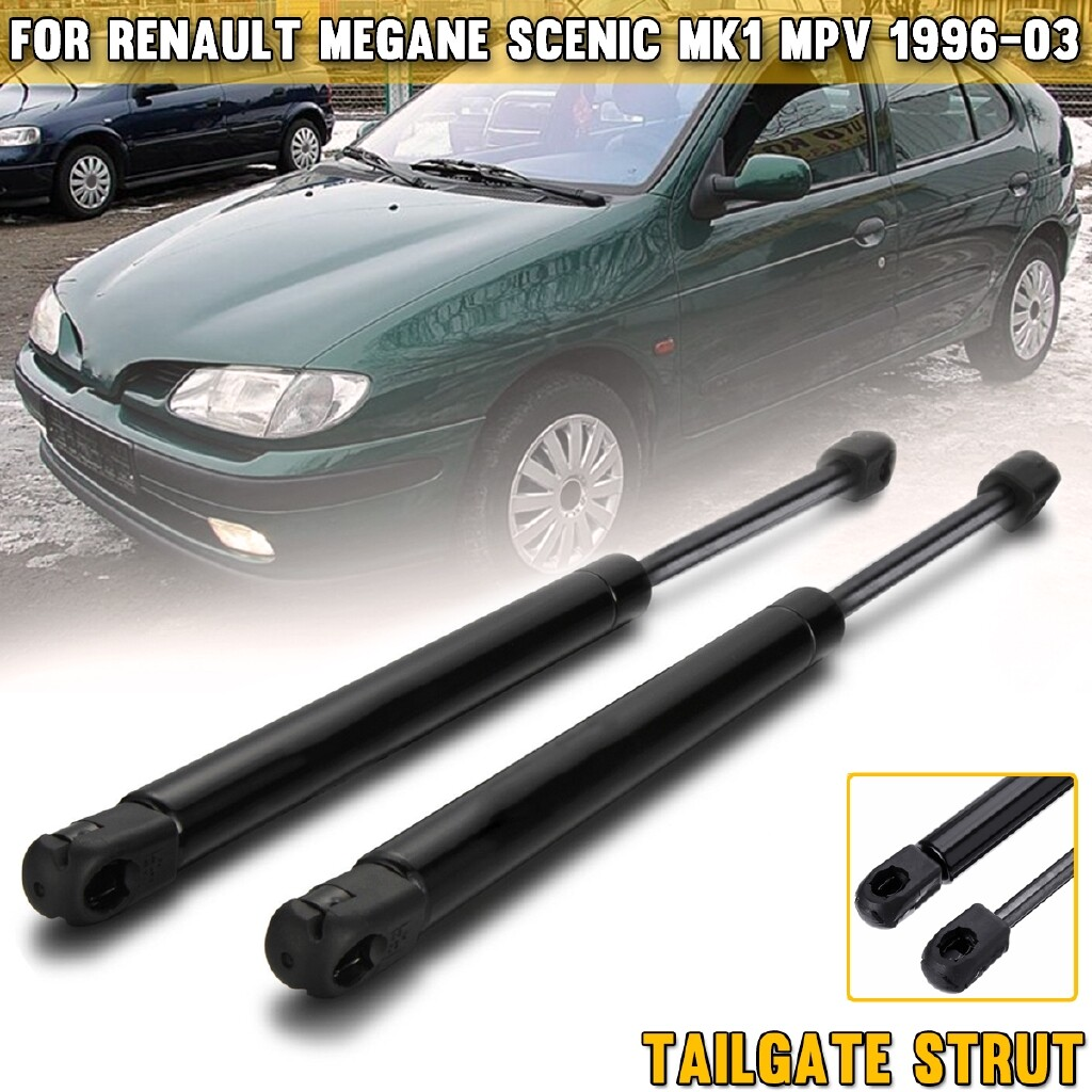 Car Lights - TAILGATE STRUT SLOW DOWM DAMPER FOR RENAULT MEGANE SCENIC MK1 MPV - Replacement Parts