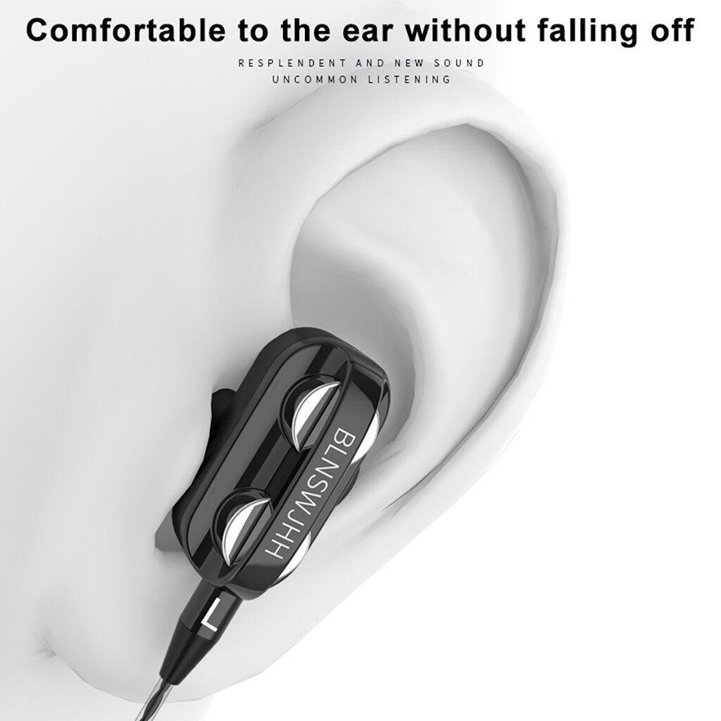Wired Earphone HiFi Super Bass 3.5mm In-Ear Headphone Stereo Earbuds Ergonomic Sports Headsest Birthday Gift