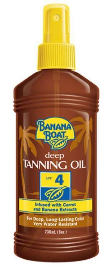 BANANA BOAT DARK TANNING OIL SPF4 236ML