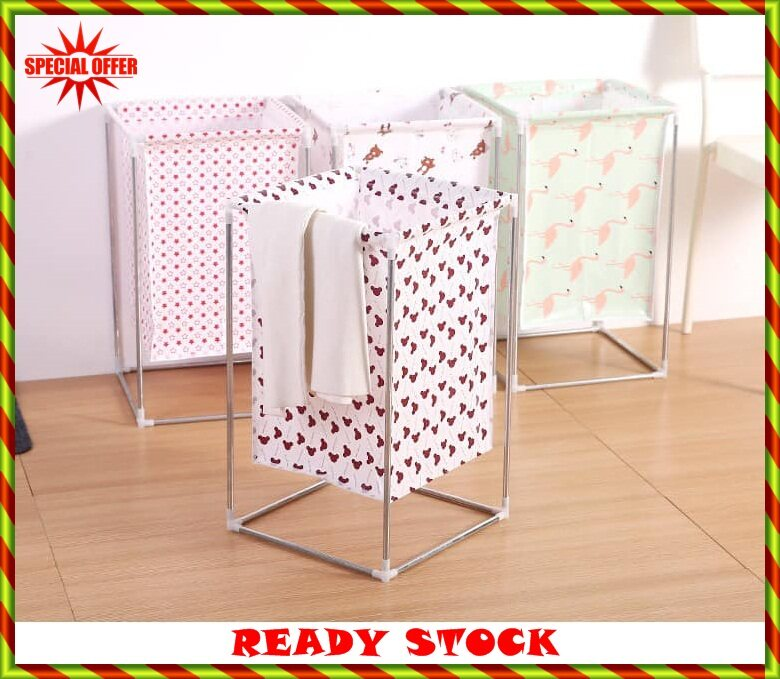 BUY 1 FREE 1LAUNDRY BASKET WITH STAND