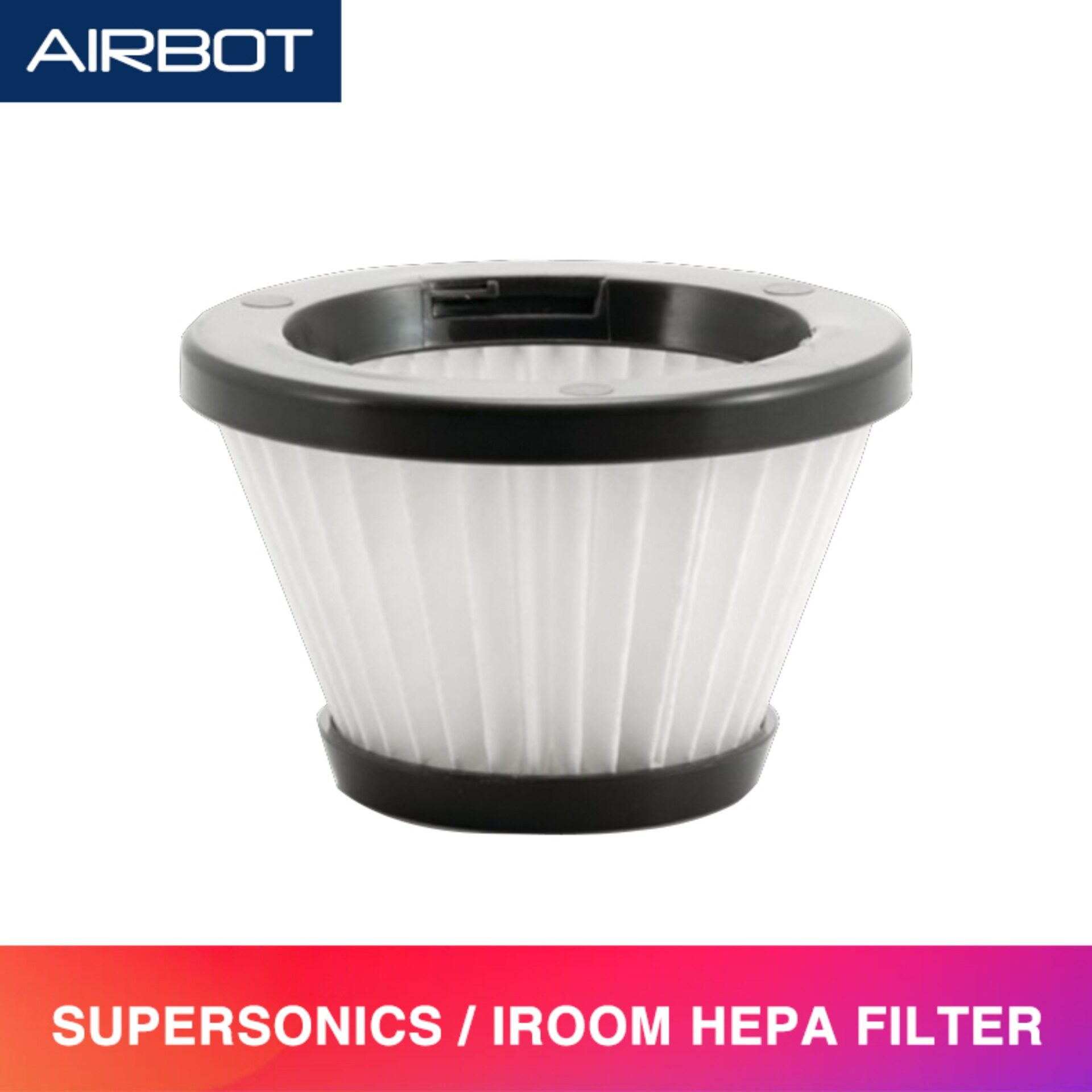 [ Accessories ] Airbot Spare Parts Replacement HEPA Filter Compatible with Supersonics and iRoom