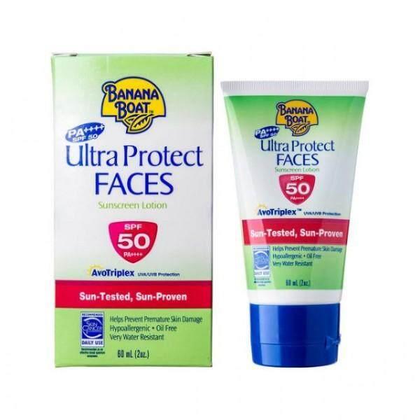 Banana Boat Ultra Protect Faces Sunscreen Lotion SPF50 PA++++ 60ml