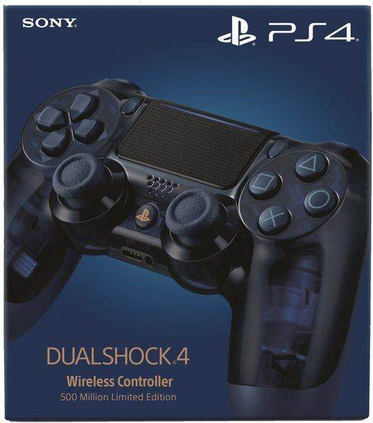 New DualShock 4 Wireless Controller (500M Limited Edition)