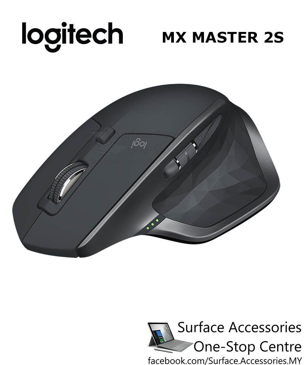 [MALAYSIA] Logitech MX Master 2S Wireless USB Mouse Wireless Bluetooth Mouse (910-005142) Multi-Device Mouse iPad Phone Rechargeable Mouse 4000DPI