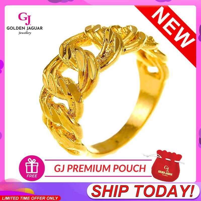 [LazChoice]NEW GJ Jewellery Emas Korea 24k - Koko Pasir Cincin / Coco Ring (81601-9)