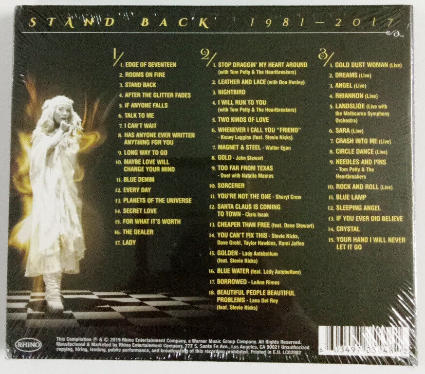 Stevie Nicks - Stand Back : 1981-2017 Ultimate Collection 3CD 50 Essential Recordings
