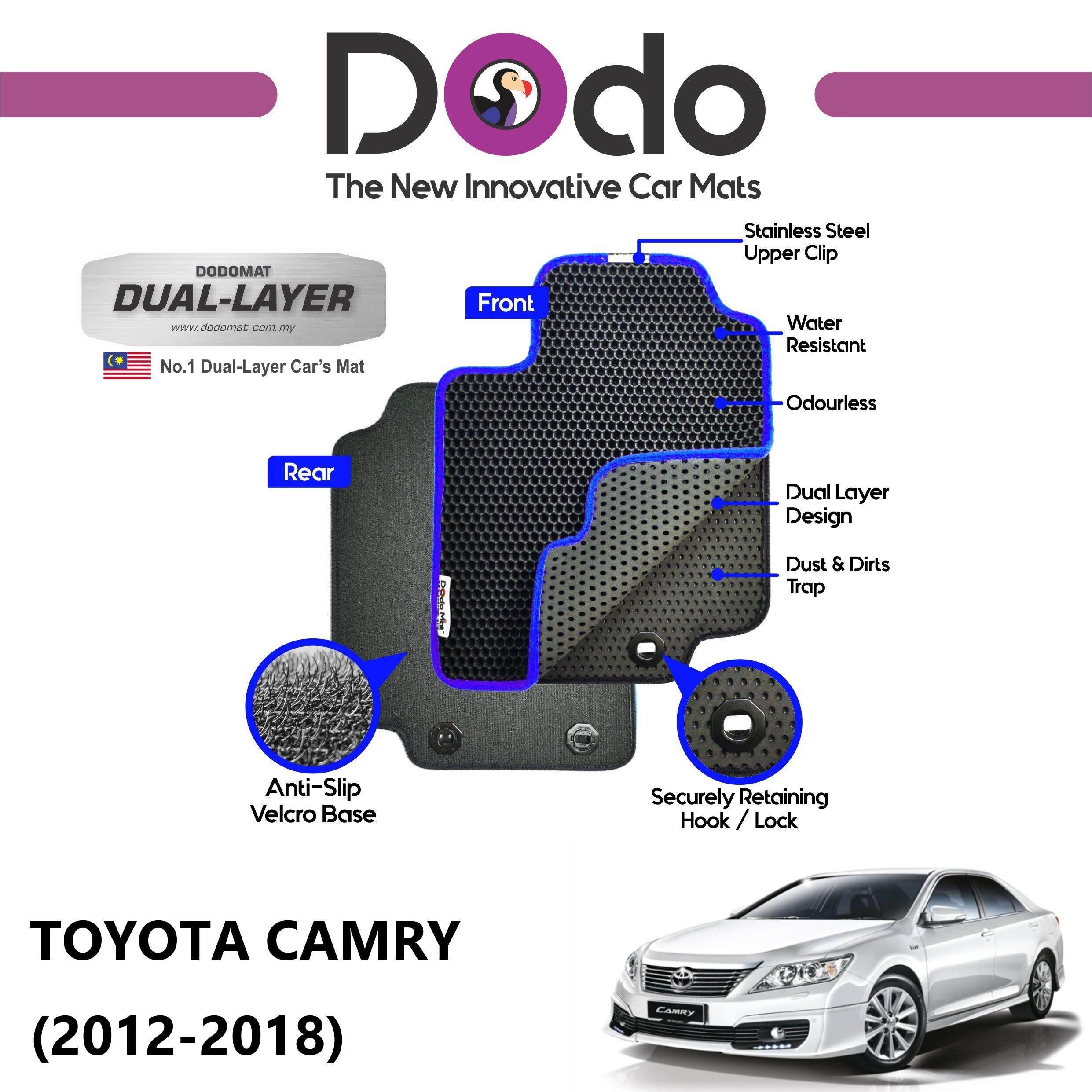DODOMAT Car Mat TOYOTA CAMRY (2012-2018) BASIC
