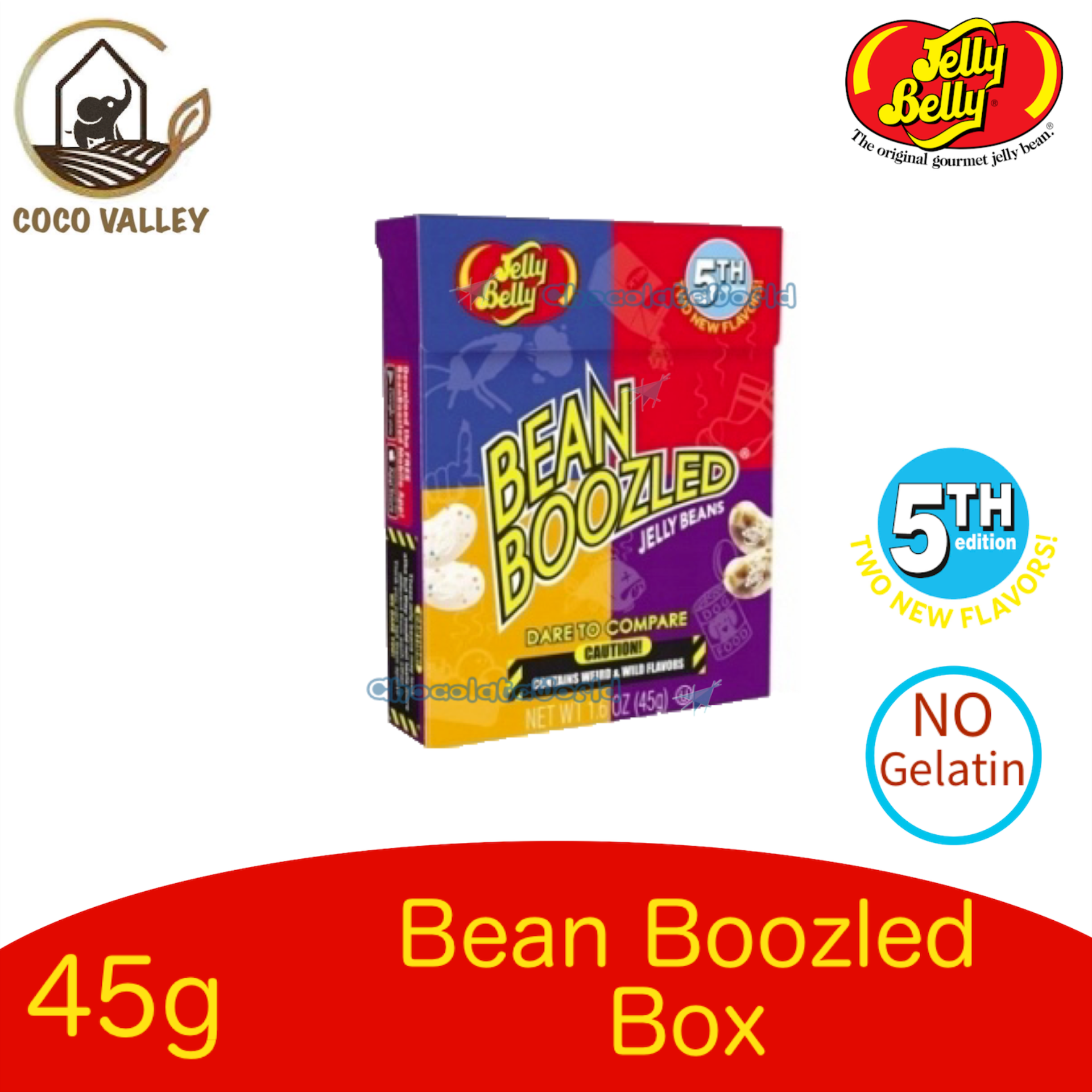 Jelly Belly 4th Edition Bean Boozled Jelly Beans 45g Box