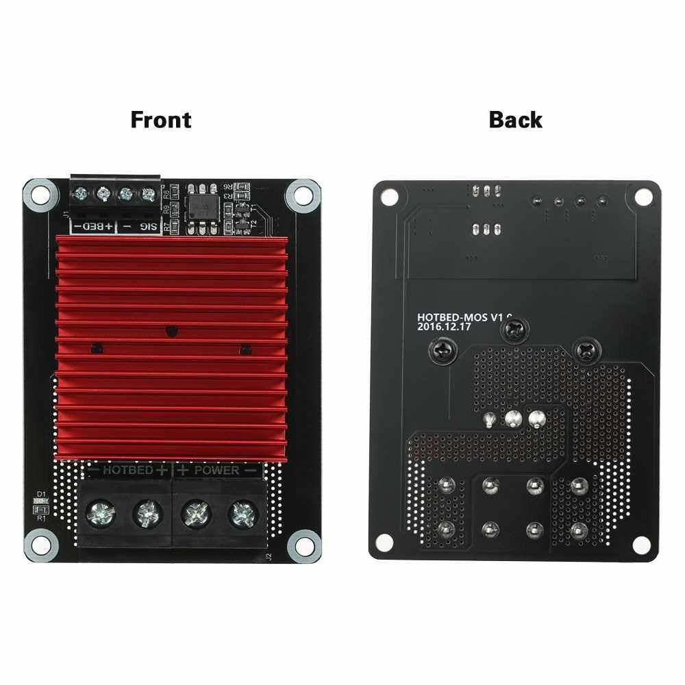 3D Printer Hotbed Heating Controller High Current Load MOS Module MOSFET Board Exceed 30A Compatible for CR-10 Ender-3 Prusa TEVO 3D Printer (Standard)
