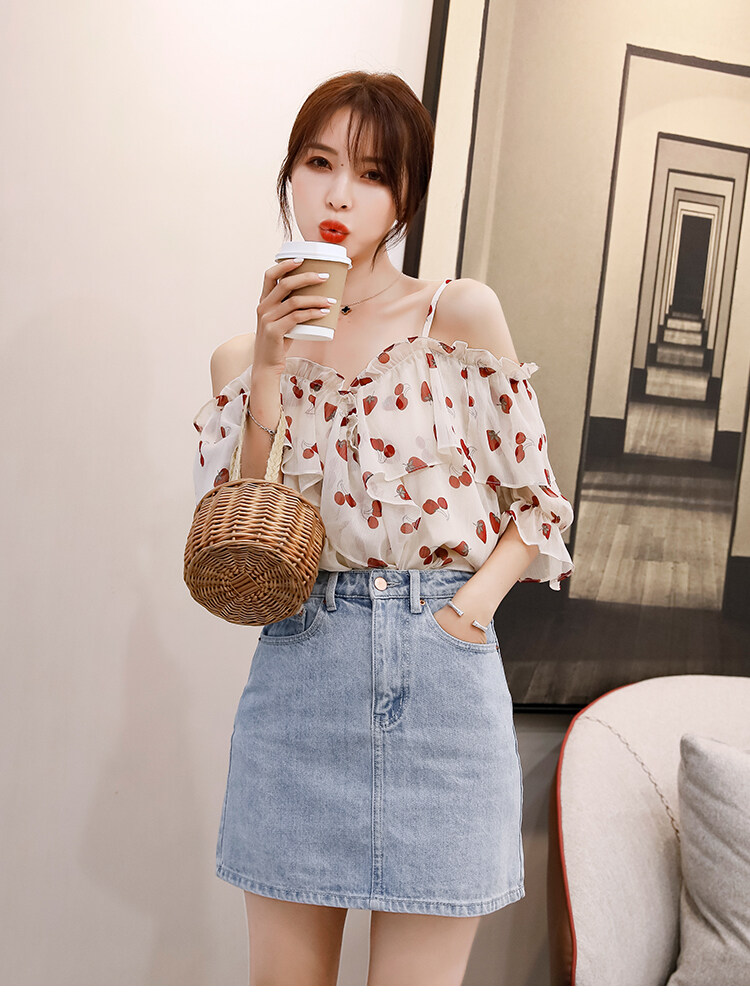 (Pre Order ETA 21/3) JYS Fashion Korean Style Women Off Shoulder Top Collection 533-2000
